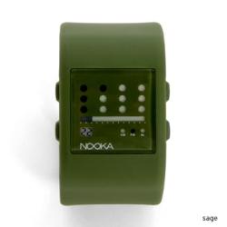 green nooka watch for women