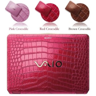 crocodile skin sony vaio laptops