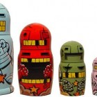 bad robot russian dolls