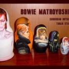 david bowie matryoshka dolls