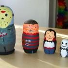 horror movie characters matryoshka dolls