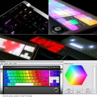 led computer keyboard luxeed color
