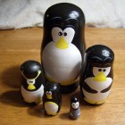 linux penguin matryoshka dolls