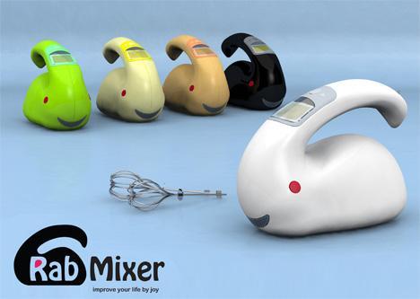 rabbit mixer kitchen gadget