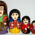 the beatles matryoshka dolls