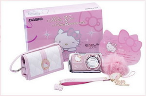 Casio Exilim EX Z21 Hello kitty camera