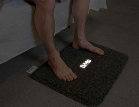cool alarm clock digital carpet