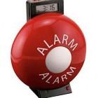 weird alarm clock fire alarm