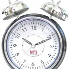 cool mp3 player alarm clock