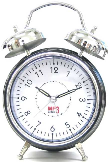 cool mp3 player alarm clock
