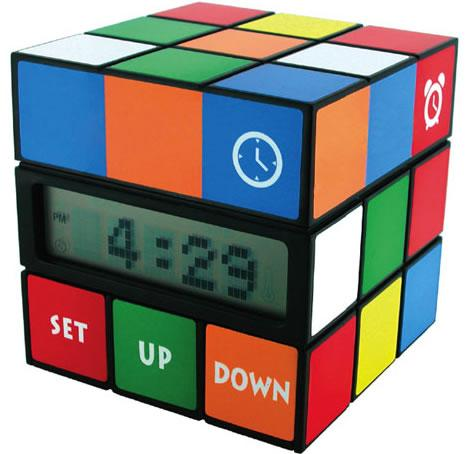 new alarm clock rubik cube