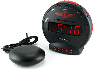 loud alarm clocks sonic boom sound