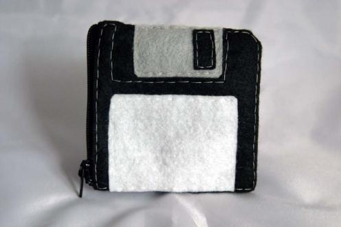 floppy disk pouch