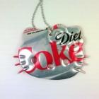 hello kitty necklace diet coke soda can