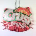hello kitty necklace orange crush soda can