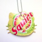 hello kitty necklace squirt soda can