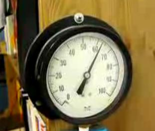 hydraulic powered strong alarm clock