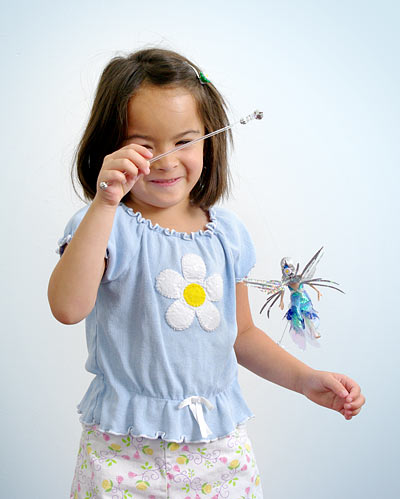 little fairy doll fritter light