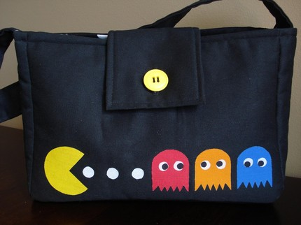 new pacman game purse