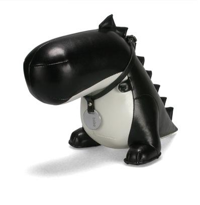 cute dinosaur bookend design
