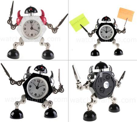 cute robot alarm clock