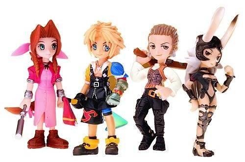 final fantasy trading arts mini figures