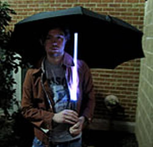 cool led umbrella design