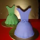 prom dress cake