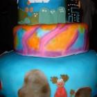80s cake 2