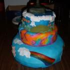 80s cake 3