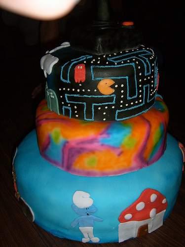 80s cake designs