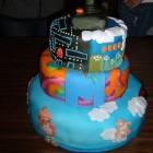 80s cake one