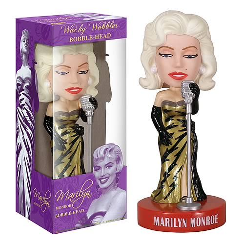 marilyn monroe bobble head toy