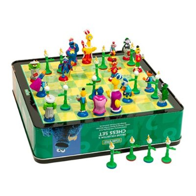 Sesame street chess board