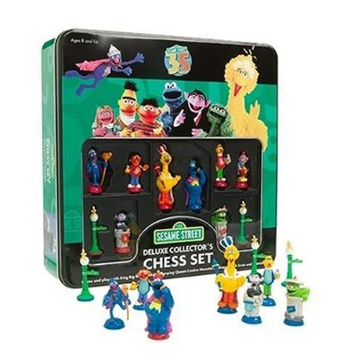 Sesame street chess game
