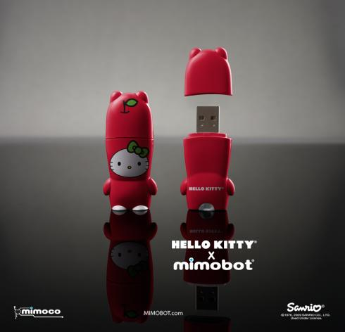 hello kitty usb flash drive mimobot