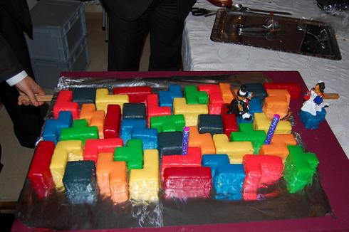 new tetris game cake