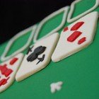 solitaire card cake