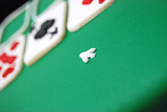 solitaire cards cake