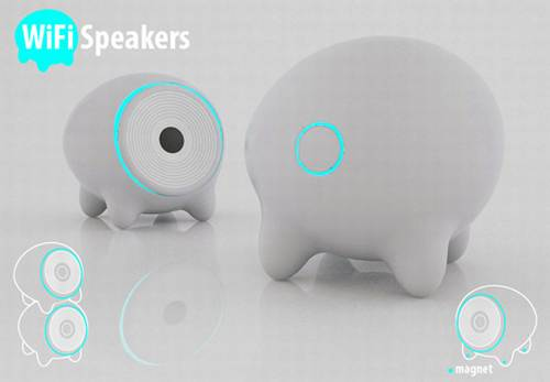 Polpettek wifi speakers