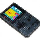 black gameboy color beadwork