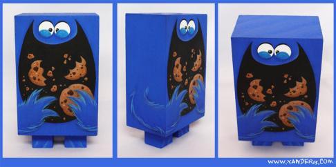 cookie monster art box