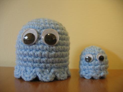 cute pacman ghosts craft