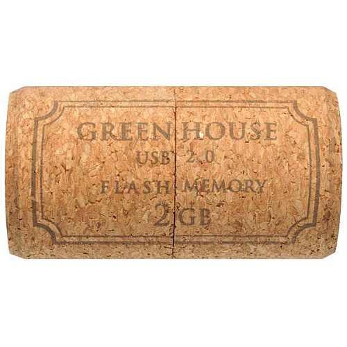 Green-House Cork USB Memory