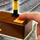 Railroad Crossing Signal Alarm Clock-2