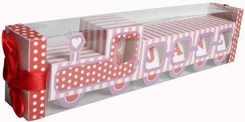 decorative paper train and air balloon1