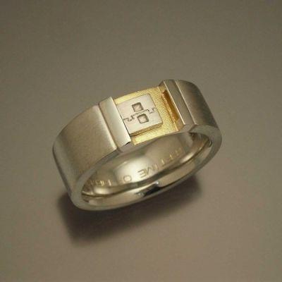 Nerdy Wedding Ring