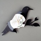 Vinyl wall clocks-2