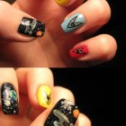 Star Trek Fingernail Painting