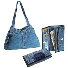 denim jeans purses and wallets